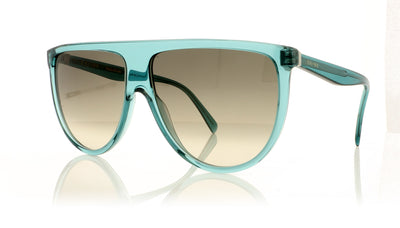 Céline CL40006I 96F Translucent turquoise Sunglasses at OCO