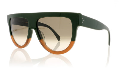 Céline Shadow CL41026/S JAR Green Sunglasses