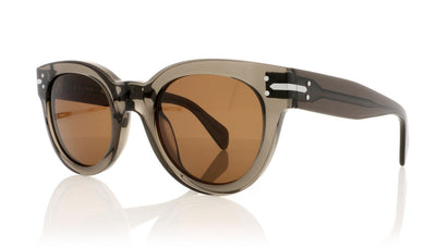 Céline New Butterfly CL41040/S I73 Transparent Olive Sunglasses