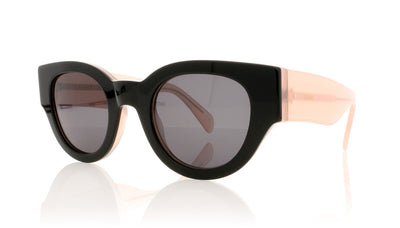 Céline Bicolour CL41064/S 6TV Black Sunglasses