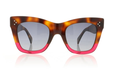 Céline Catherine CL41090/S 23A Havana Sunglasses at OCO