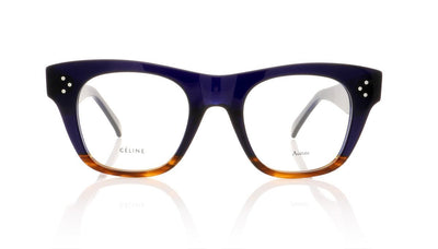 Céline Catherine Small CL41361 QLT Blue Glasses at OCO