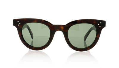 Céline Anna CL41375/S 086 Dark Havana Sunglasses at OCO
