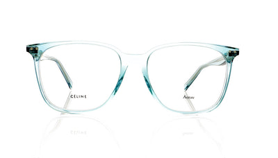 Céline Thin Eddie CL41420 S86 Transparent Green Glasses