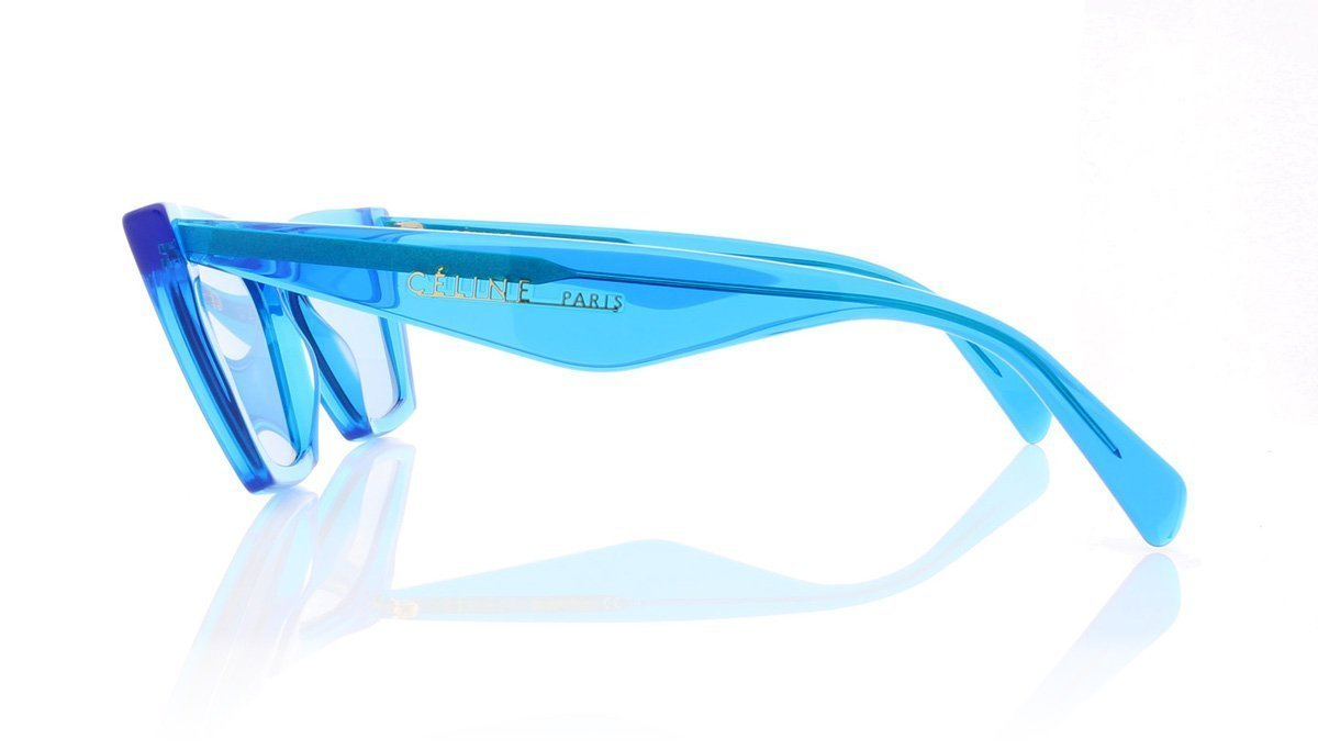 99d2163bdb8 Céline Edge CL41468 S GEG Blue Sunglasses at OCO