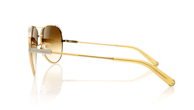 Chloé CE118S 753 Light Gold Sunglasses