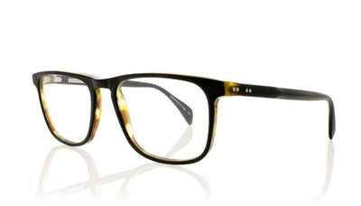Claire Goldsmith Baxter 2 Matte Wakame Glasses at OCO