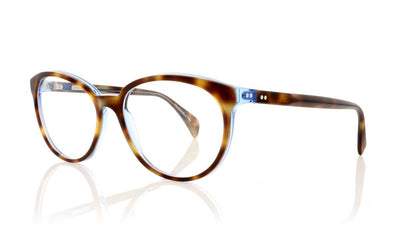 Claire Goldsmith Goldie 11 Electric Tortoise Glasses at OCO