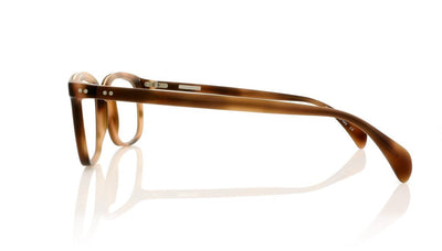 Claire Goldsmith Porter 3 Matte Tobacco Tortoise Glasses at OCO