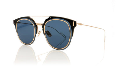 Dior Homme Composit1.0 DDB Gold Copper Sunglasses at OCO