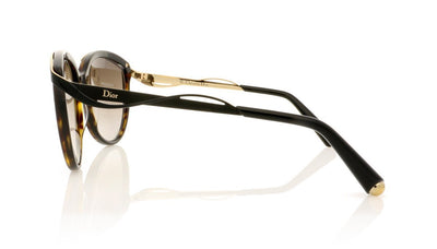 Dior Metaleyes 1 6NY Dark Havana Sunglasses at OCO
