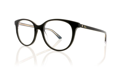 Dior Montaigne 16 Montaigne16 NS1 Black Glasses