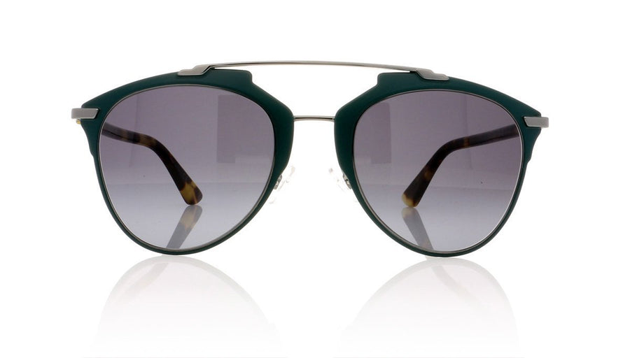 6075959498 Dior Reflected PVZ Matte Green Sunglasses at OCO