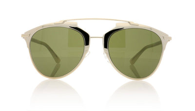 Dior Reflected TUP Gold White Sunglasses