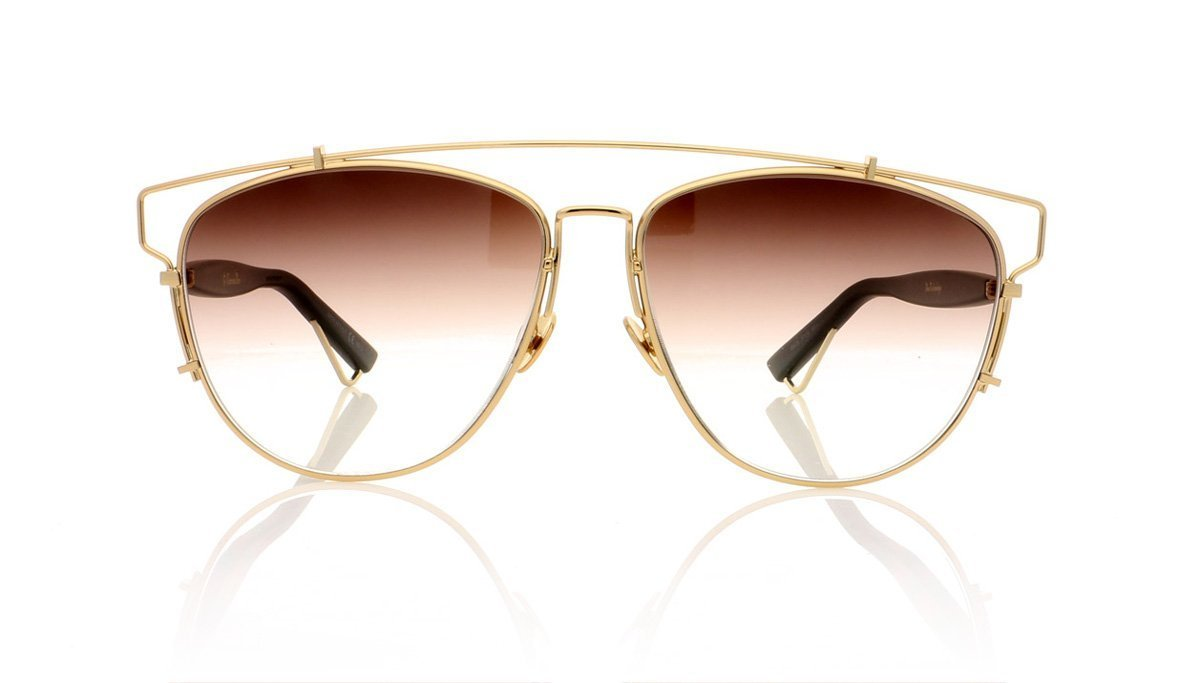 a16209f4388 Dior Technologic RHL Gold Sunglasses at OCO