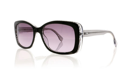 Fendi FF 0002/S 6ZV Black Sunglasses at OCO