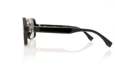 Fendi FF 0007/S D28 Shiny Black Sunglasses at OCO