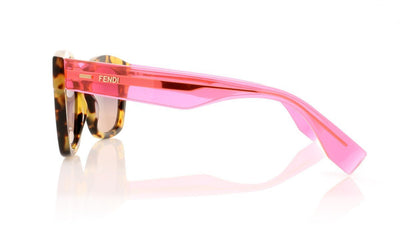 Fendi FF 0025/S 7OH Havana Sunglasses at OCO