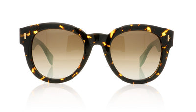 Fendi FF 0026/S HK4 Spotted Havana Sunglasses at OCO