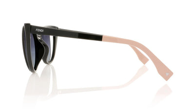 Fendi FF0136/S NY1 Matte Black Sunglasses at OCO