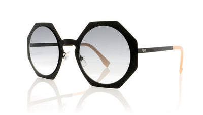 Fendi FF 0152/S 3 Matte Black Sunglasses at OCO