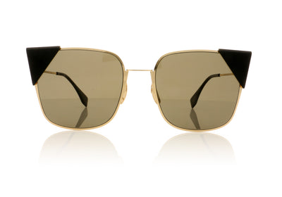 Fendi FF0191/S 000 Rose Gold Sunglasses at OCO