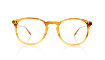 Garrett Leight Kinney 1007 BTF Blonde Tortoise Fade Glasses at OCO