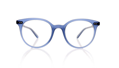 Garrett Leight Dillon 1027 MSLB Matt Slate Blue Glasses at OCO