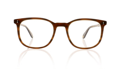 Garrett Leight Bentley 1036 MBRT Matte Brandy Tortoise Glasses