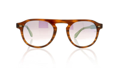 Garrett Leight Harding 2006 BRT/GLM Brandy Tortoise Sunglasses at OCO