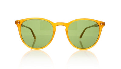 Garrett Leight Milwood 2032 BT/PGN Butterscotch Sunglasses at OCO