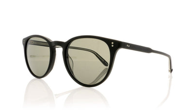 Garrett Leight Milwood 2032 MBK/PGY Mat Black Sunglasses at OCO