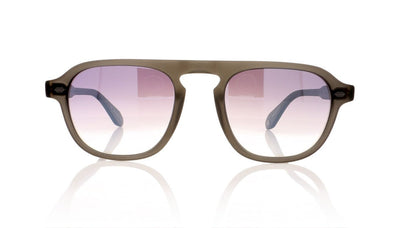 Garrett Leight Grayson 2052 MGY/SLM Matte Grey Sunglasses at OCO