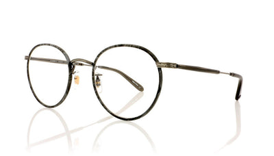 Garrett Leight Wilson 3003 GMR Grey Marble Glasses at OCO