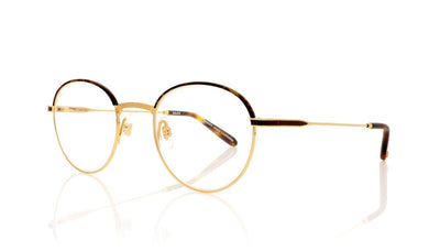 Garrett Leight Cloy 3019 BBT-MG Tortoise Matte Gold Glasses