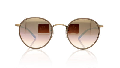 Garrett Leight Wilson 4003 BRNPL-BG-POMV/SUG Brownpearl Sunglasses at OCO