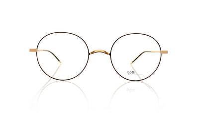 Götti Adan GB-BR Gold Brushed Glasses at OCO
