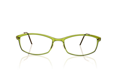 Lindberg n.o.w titanium 6512 C11/PGT Translucent Olive Green With Matt Gold Sides Glasses