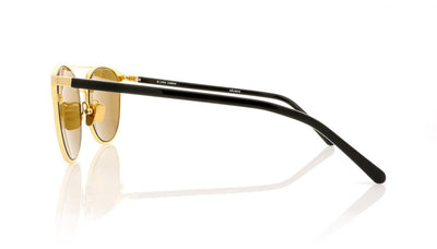 Linda Farrow LFL/421 C5 Lf Yl Gld Sunglasses at OCO