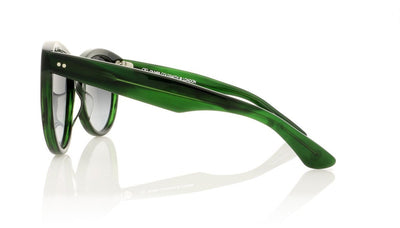 Oliver Goldsmith Manhattan 99 Evergreen Sunglasses at OCO