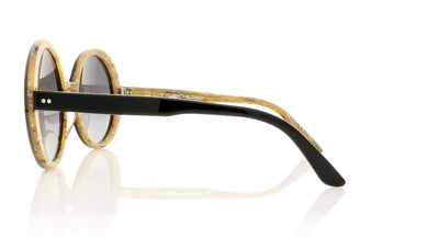 Oliver Goldsmith Oops 1 Black Wood Sunglasses at OCO