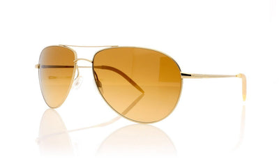 Oliver Peoples Benedict OV1002S 5036K8 Silver Sunglasses at OCO