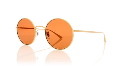 Oliver Peoples After Midnight 0OV1197ST 525253 Brushed Gold Sunglasses at OCO