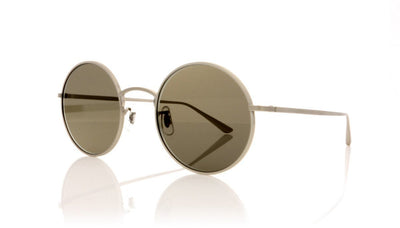 Oliver Peoples After Midnight 0OV1197ST 5254R5 Brushed Silver Sunglasses at OCO