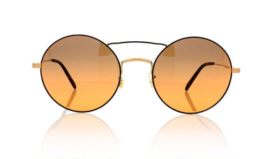 Oliver Peoples Nickol OV1214S 527156 Brushed Gold Sunglasses at OCO