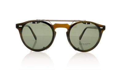 Oliver Peoples Gregory Peck OV5186C 5071 Gunmetal Clip at OCO