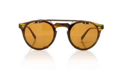 Oliver Peoples Gregory Peck OV5186C 5101 Rust Clip at OCO