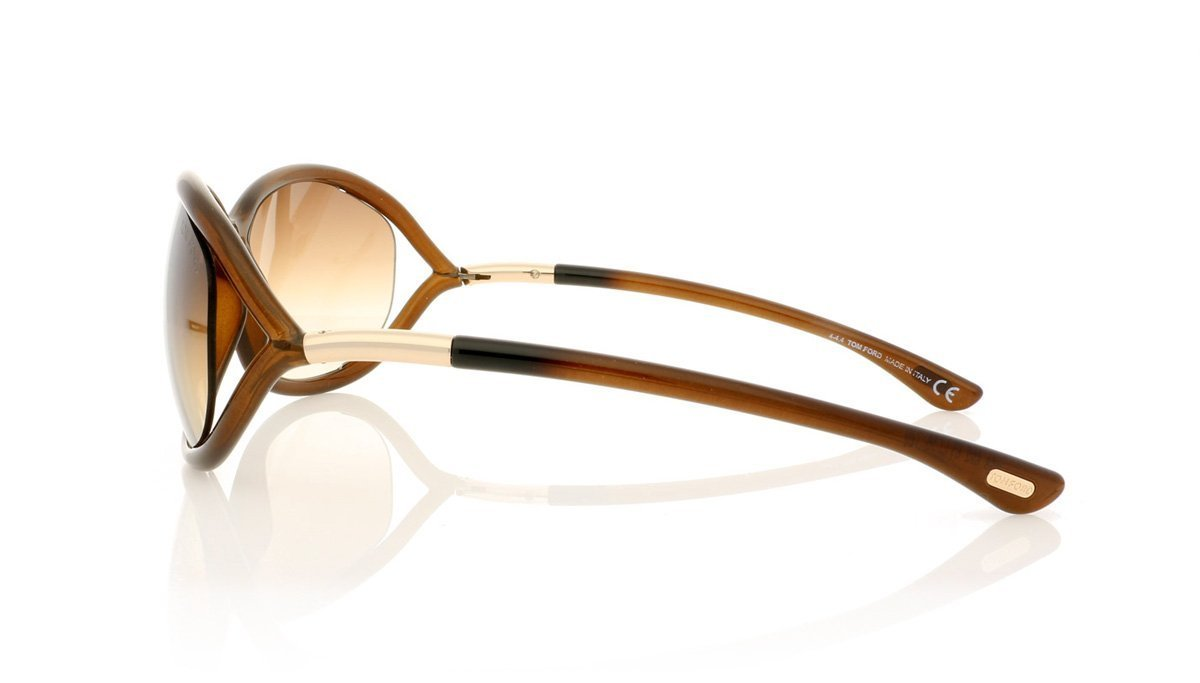 a5146ba8e4 Tom Ford Jennifer TF8 692 Brown Sunglasses at OCO