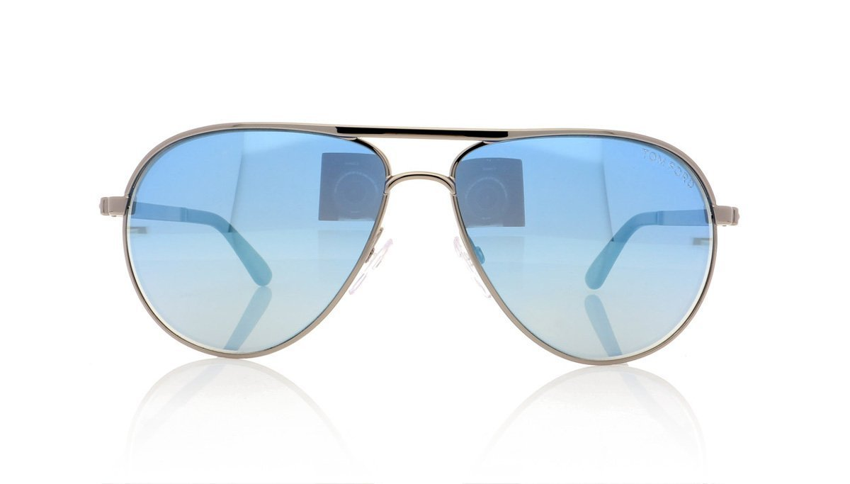 d3fdb444a02 Tom Ford Marko TF144 14X Shiny Lght Ruth Blu Mir Sunglasses at OCO