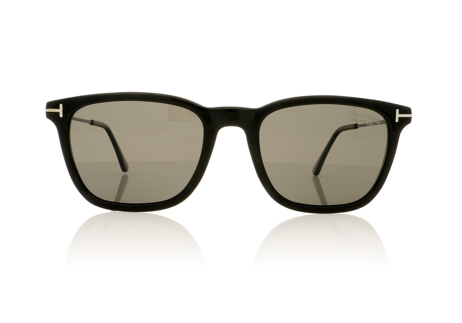top design usa cheap sale official supplier Tom Ford Arnaud 02 TF0625 01D Shiny Black Sunglasses | OCO